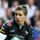 Rhys Webb crossed over twice as Ospreys went top of the PRO12 standings
