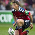 Ian Keatley kicked 13 points in Munster's victory over local rivals Leinster
