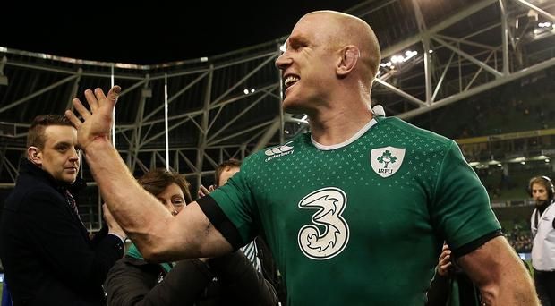 The Times says that Ireland captain Paul O'Connell is one of the