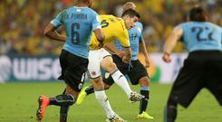 James Rodriguez's goal against Uruguay was voted the year's best