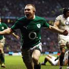 Keith Earls is aiming to end two injury-hit years when he turns out for Ireland Wolfhounds