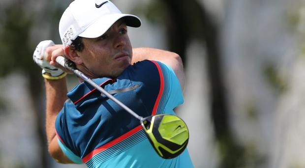 Rory McIlroy eased to success in Dubai (AP)