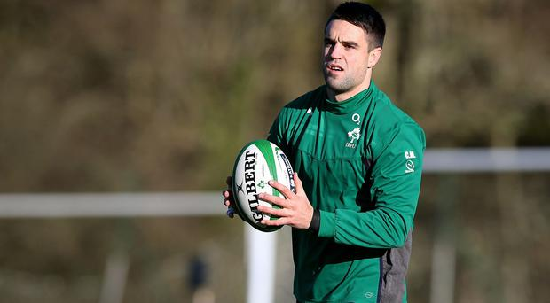 Conor Murray, pictured, does not feel any extra pressure in the absence of Johnny Sexton
