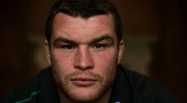Jack McGrath, pictured, is ready to go toe-to-toe with Martin Castrogiovanni against Italy