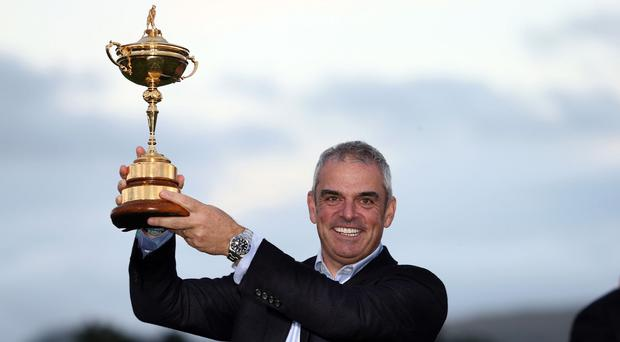 Ryder Cup charity mementos belonging to Paul McGinley have been stolen from his car