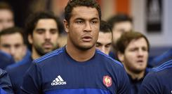 Thierry Dusautoir, pictured, says Johnny Sexton 'adds a lot of strength at half-back'