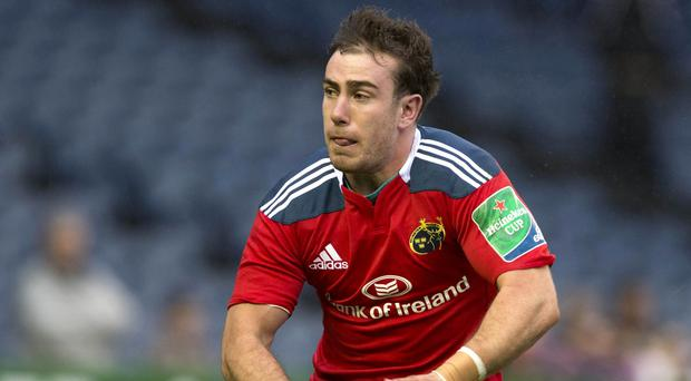 JJ Hanrahan helped Munster to victory over Cardiff