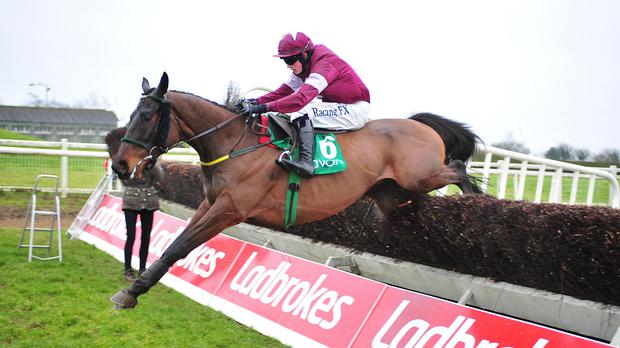 Very Wood and Bryan Cooper winning the race in February