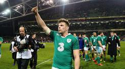 Ireland flanker Jordi Murphy has been backed to thrive against England's potent back-row