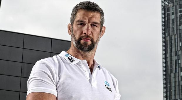 Simon Shaw believes the game will be won up-front (Pinnacle/PA)