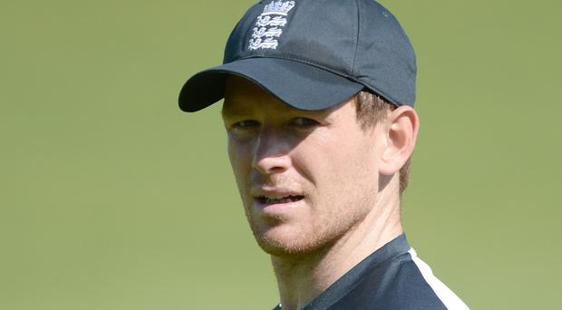 England captain Eoin Morgan has defended his decision not to sing the national anthem