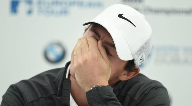 Rory McIlroy was on course to miss the cut in the Honda Classic