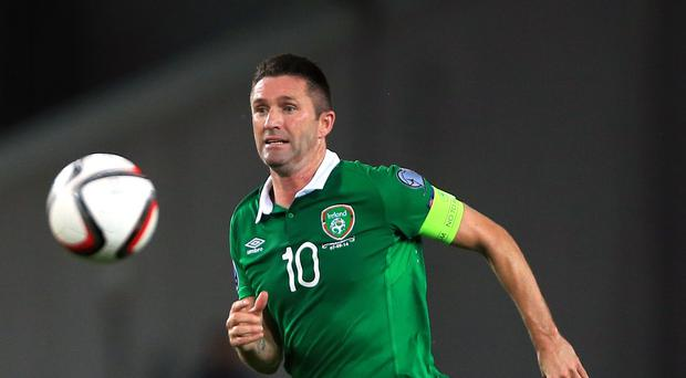 Republic of Ireland skipper Robbie Keane is injured at the moment
