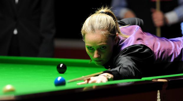 Reanne Evans is bidding to make history in Sheffield