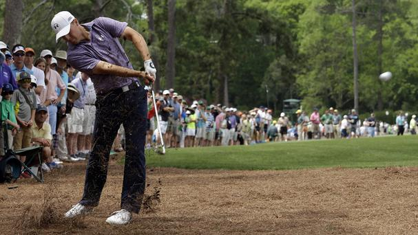 Jordan Spieth continued his fine form at the Masters on Friday (AP)