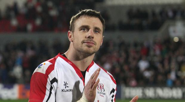 Tommy Bowe went over for a pair of tries for Ulster