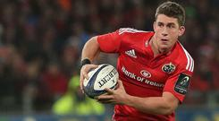 Ian Keatley kicked nine points for Munster