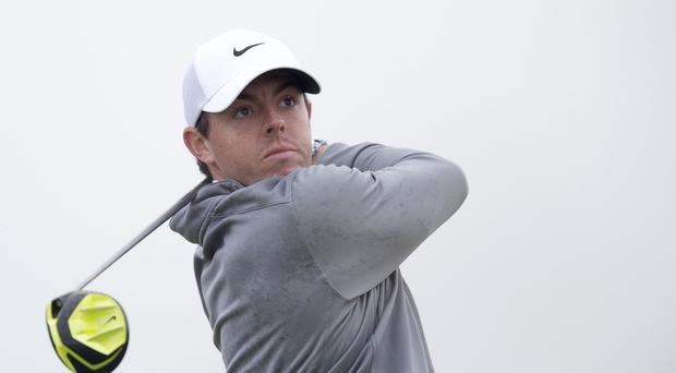 Rory McIlroy suffered a poor finish to his third round at Augusta