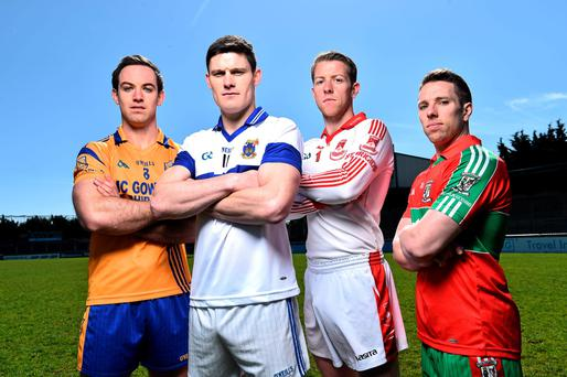 Diarmuid Connolly (second from left)