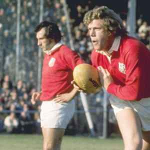 Fergus Slattery during the 1974 Lions Tour
