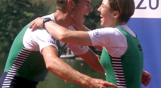 I've no idea what our three former world rowing champions — Niall O'Toole, Sam Lynch and Sinead Jennings — will make of it