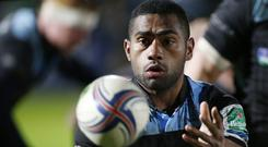 Niko Matawalu was among the Glasgow Warriors tryscorers in the win at Connacht
