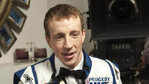 Kris Meeke leads the Rally Argentina with two stages to go on Sunday