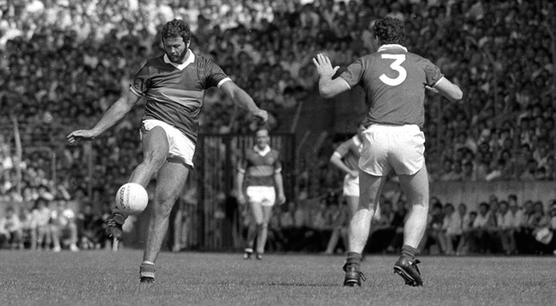 Eoin Liston in action for Kerry