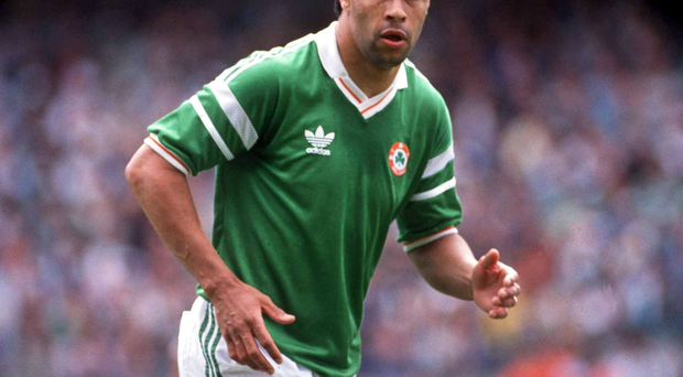 Paul McGrath. Photo: Sportsfile