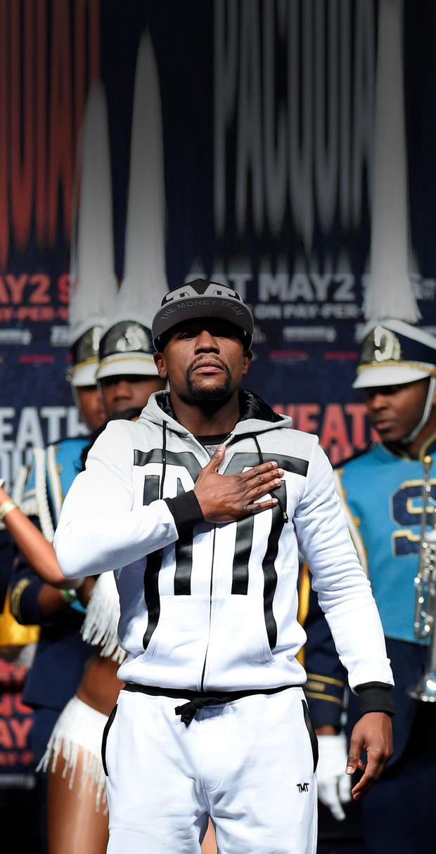 Defensive: Floyd Mayweather