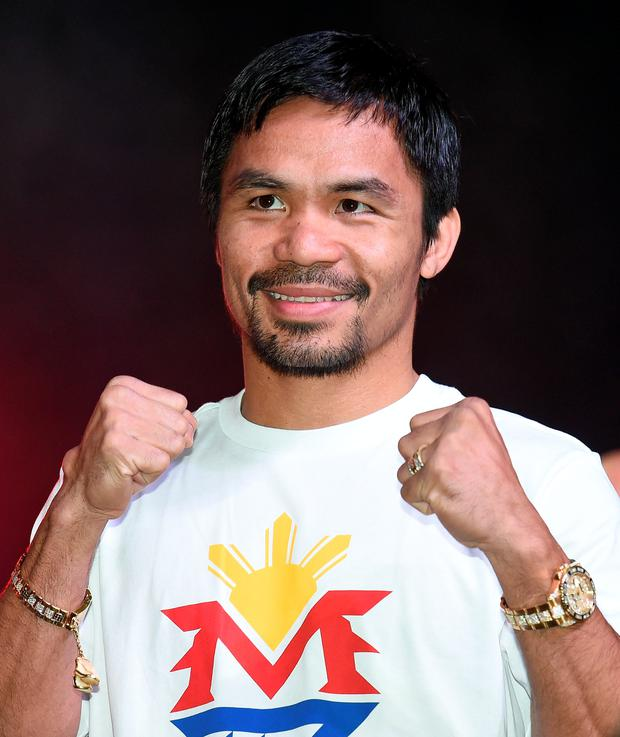 Slugger: Filipino fighter Manny Pacquiao