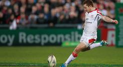 Ulster's Paddy Jackson was on target against Munster