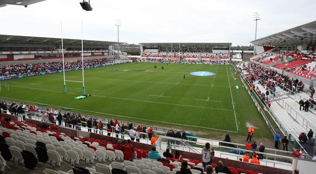 Ravenhill will host the Women's Rugby World Cup final in 2017