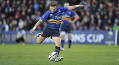 Ian Madigan kicked 11 points for Leinster