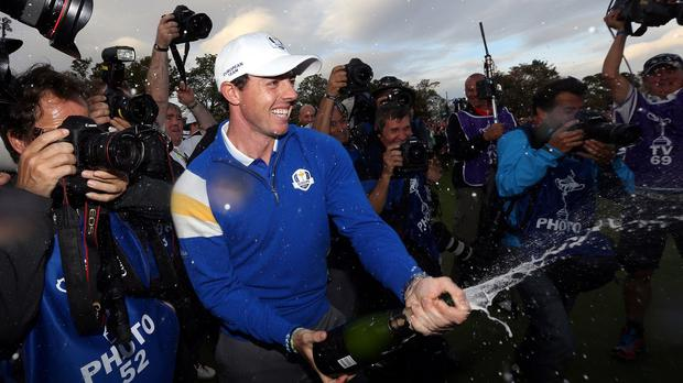 Rory McIlroy was top of the bill at the European Tour's awards