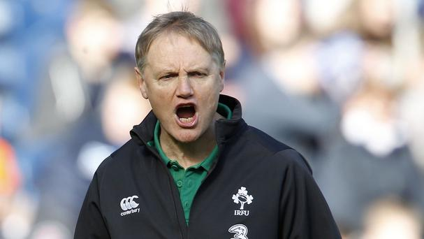 Head coach Joe Schmidt, pictured, has been praised for turning Ireland into World Cup contenders