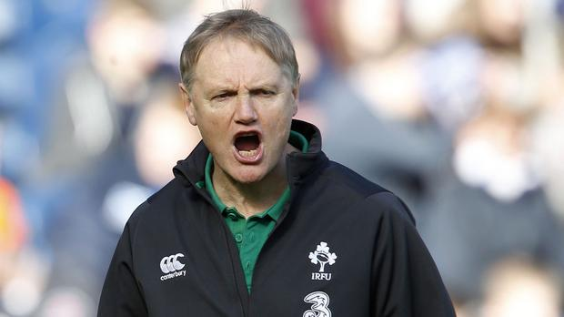 Joe Schmidt, pictured, has denied he had any involvement in Leinster sacking coach Matt O'Connor