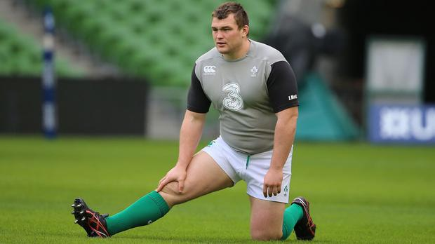 Joe Schmidt has admitted prop Jack McGrath, pictured, could face further sanction for his yellow card against the Barbarians
