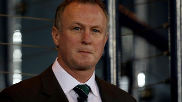 Michael O'Neill is just thinking about football ahead of the match with Qatar
