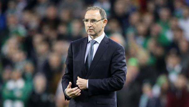 Martin O'Neill is relishing the prospect of Sunday's friendly against England