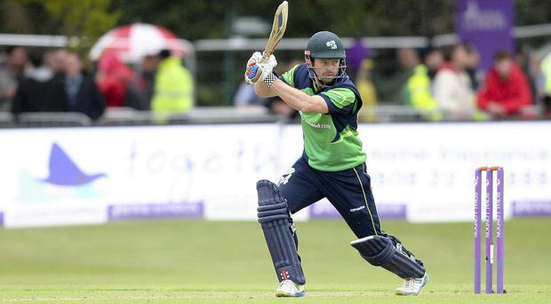Ed Joyce hit 229 not out, the highest score by an Ireland player, against the United Arab Emirates