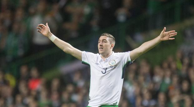 Republic of Ireland defender Stephen Ward is hoping for a peaceful return to Dublin for England