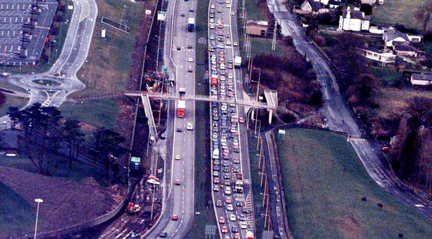 The M50 motorway