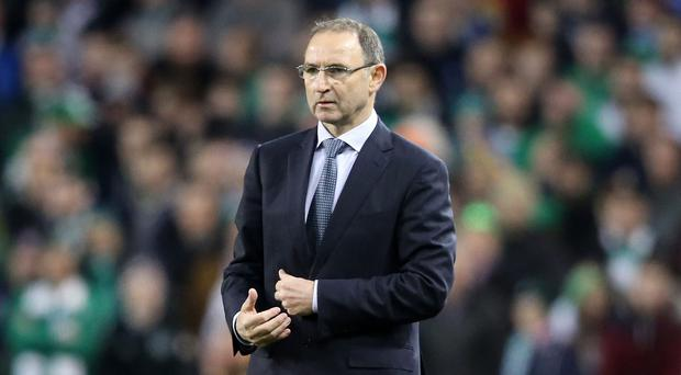 Republic of Ireland manger Martin O'Neill, who goes head-to-head with fellow former Celtic boss Gordon Strachan on Saturday