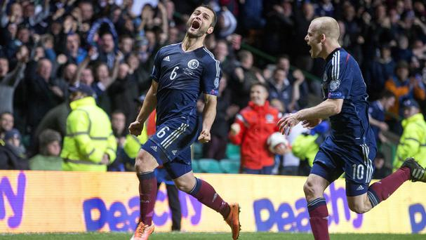 Shaun Maloney scored the only goal in the first meeting between the sides