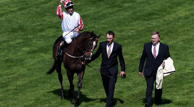 Sole Power after his second King's Stand success lat year