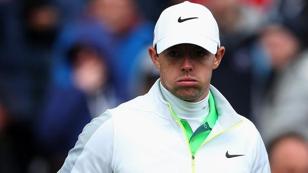 Rory McIlroy felt he turned a 65 into a 70 in the third round of the US Open
