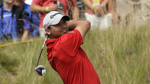 Jason Day had a fantastic third round at the US Open at Chambers Bay (AP)