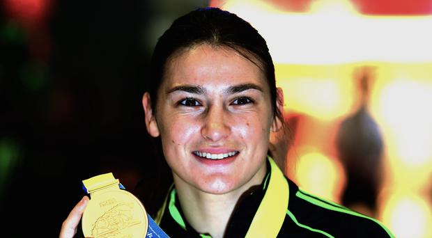 Katie Taylor eased into the semi-finals of the European Games in Baku