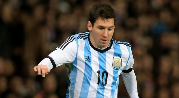 It is alleged that Ireland players were paid not to tackle Lionel Messi